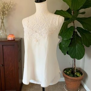 Christian Dior  vintage lace trim night top